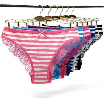 Coloré Rayé Coton Dentelle Transparente Culotte Adolescente Femmes Matures Sous Vêtements Buy Sous Vêtements Transparents Sous Vêtements Pour