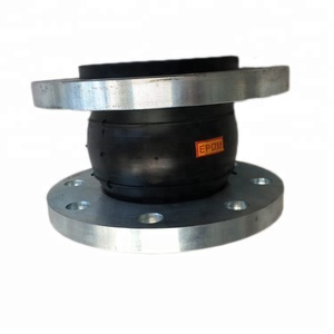 pn 16 pn 10 single flanged plumbing neoprene rubber expansion joint for pipe