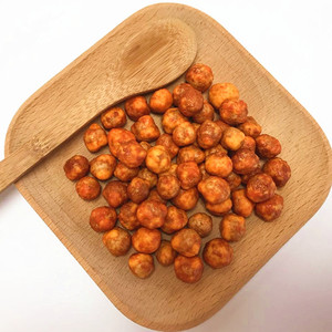 Sriracha Coated Roasted Japanese Chickpeas kosher
