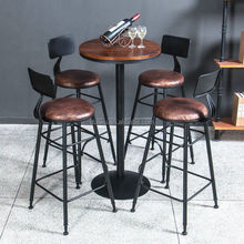Foshan custom furniture used outdoor bar set for sale
