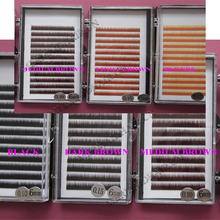 Hot sale, A A A GRADE eyebrow extension high quality and differen colors