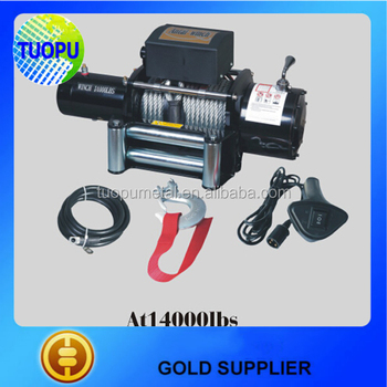 China 4x4 Atv Car Trailer Winches,12v Electric Winch 14000lbs ...