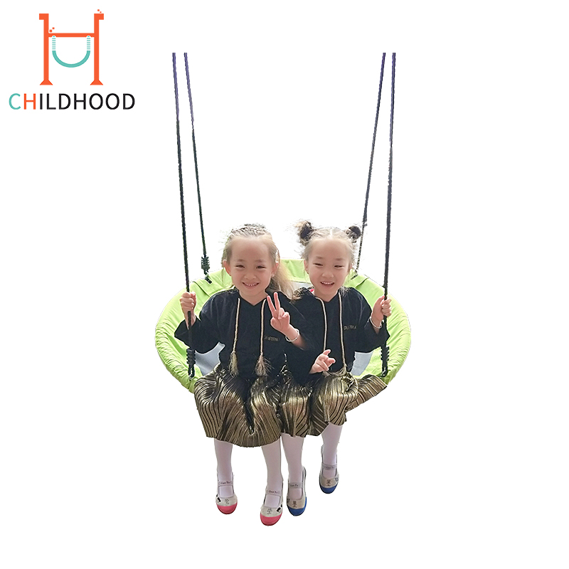 da7c99b79 Outdoor Nest Swing Child Garden Swing Rope Round Swing - Buy Round ...