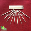 Dried thin eco-friendly bamboo toothpicks in bulk