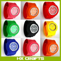 Slap on Silicone Watch Quartz Sports Watch Kid Woman Man Unisex High quality promotional
