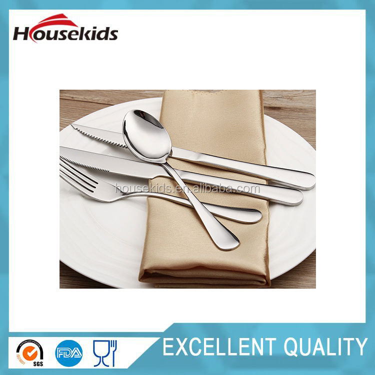 Hot stainless steel kitchen flatware sets cutlery