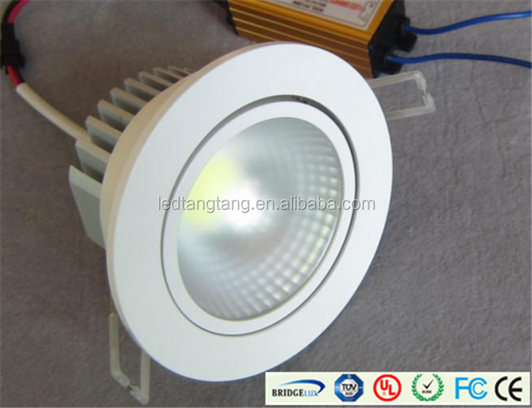 Dimmable 3W 5W 7w 9W 12w 18W RGB LED Downlight/LED Ceiling Light