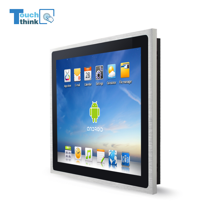 Touchthink 8 inch industrial all in one touchscreen monitor