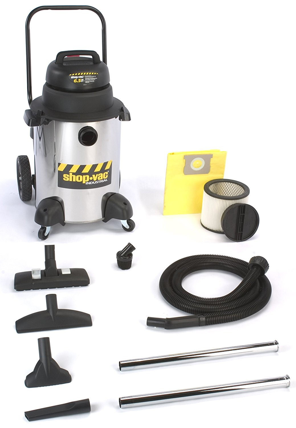 Shop-Vac 9252310 10-Gallon 6.5-Peak HP Industrial Wet/Dry Vacuum