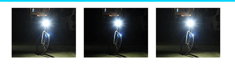 Waterproof LED Flash bike super bright front Light Bike Light with horn