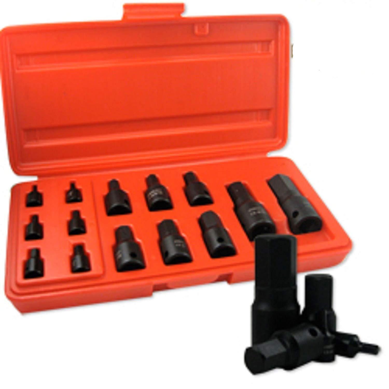 "ESKALEX>>14PC SAE Impact HEX Socket Set 3/32' ~ 3/4"" And 14PC. SAE Impact HEX Socket Set"