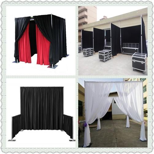 Tubulação e cortina de casamento decoração/casamento da tubulação e cortina pano de fundo