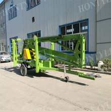 hydraulic man air lift trailer boom lift
