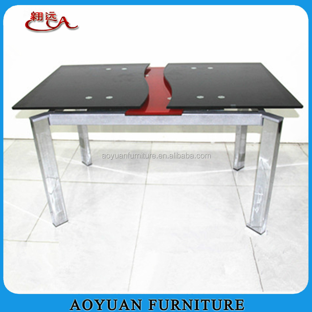Expandable Glass Dining Table Expandable Glass Dining Table
