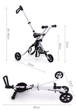 3 Big Wheel Baby Stroller with CE Certificate