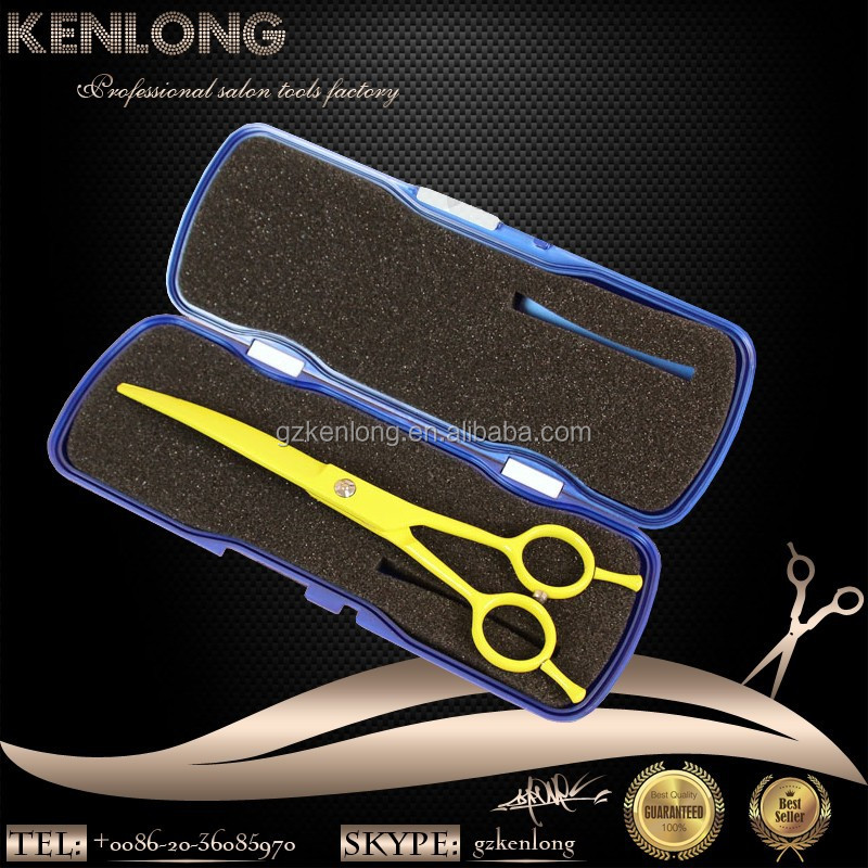 Wholesales 6 inch to 10 inch china professional pet grooming scissors curved shears