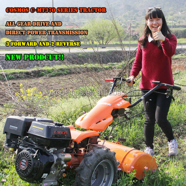 2016 new design two wheel tractor,multifunction machine C-MT370