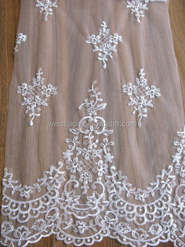 Polyester Material Lace Type French For Dress Fashion Wholesale Special Fancy Allover Fabric