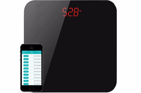 hotselling 250kgs household personal BMI digital Bluetooth smart body weight scale