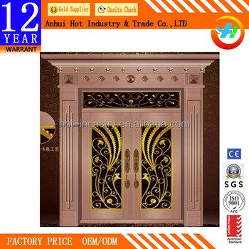 Metal Double Doors security doors for homes hot metal double doors exterior metal
