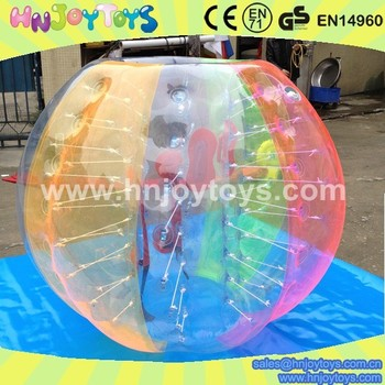 Alibaba best seller for inflatable bubble ball, inflatable balls for people, large inflatable ball