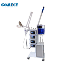 GOMECY Multifunctionele facial machine 7 in 1 hoge frequentie Ultrasone diepe reiniging <span class=keywords><strong>Aluminium</strong></span> hoge kwaliteit <span class=keywords><strong>apparaat</strong></span>