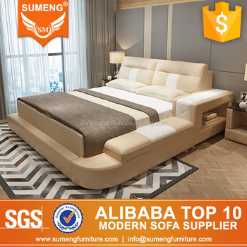 Alibaba furniture Lakdi Alibaba China Luxury Italian Top Grain Leather pvc Bedroom Furniture Sets Alibaba Alibaba China Luxury Italian Top Grain Leather pvc Bedroom