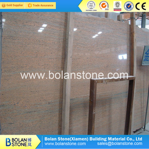 cheapest prices high quality Ivory Indian granite slab polished big slabs  small slabs