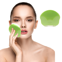 High quality waterproof skin cleansing exfoliator best facial cleansing face scrub brush