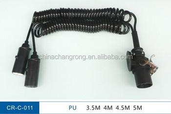 Ongebruikt Aanhanger Elektrische Kabel 15-pins Kabel 7 Kern Trailer Abs Ebs EL-49