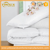 Home Textile Box Pattern Design Pure Cotton Fabric Microfiber Comforter Duvet Quilt