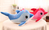 so beautiful good selling factory wholesale custom plush toy dolphin valentine stuffed animal toy