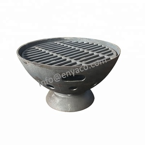 China Supplier Wood Burning Cast Iron Stove with bbq grill