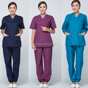 hot sales fashion printed medical scrubs/nurse scrub unifoms/hospital scrubs