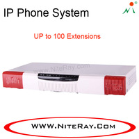 Analog hybrid voip gsm gateway pbx with 4 FXO/FXS ports optional