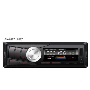 12v Car Radio Bluetooth Stereo Audio In-dash Fm Receiver Aux Input  Receiverusb/sd Audio Mp3 Auto Radio Car In Dash 50wx4 Phone - Buy Car Mp3  Player