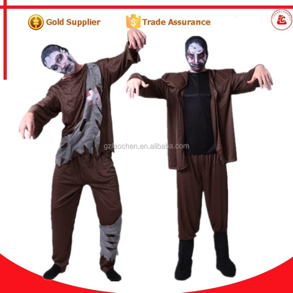 de halloween cosplay usado y trajes de diablo mens plantas vs zombie disfraces para adultos