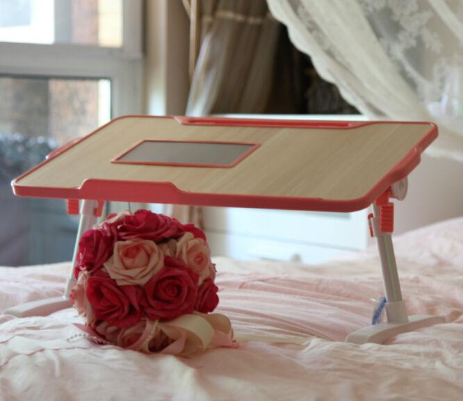 Nbt400 Folding Manicure Lap Desk For Bed With Cooling Fan