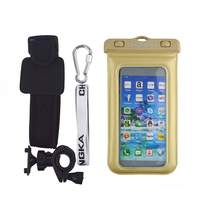 Waterproof Case For htc m8 With Bike Mount