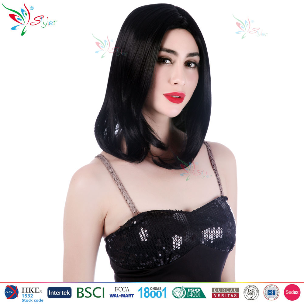 Styler brand high temperature fibre party fashion china best wig
