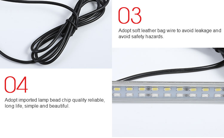 China suppliers 10w 1000LM Indoor Led Light Bar high quality truck trailer strip Led Lamp Bar