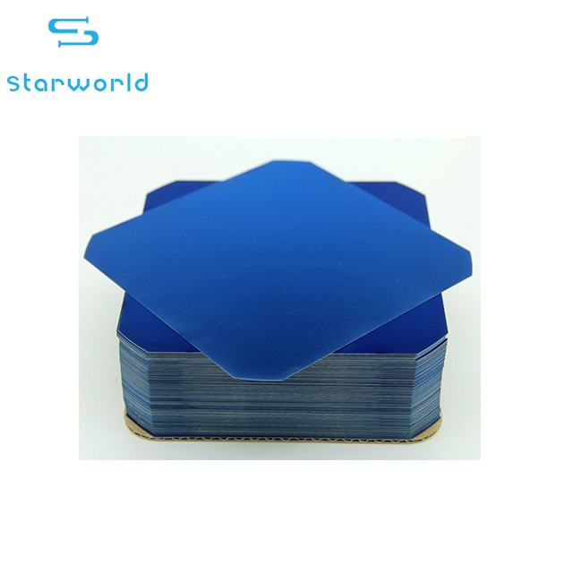High efficiency 20%-23% solar cell Thin film back contact photovoltaic sunpower solar cell 125mm