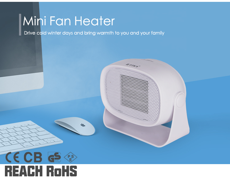 Factory wholesale price indoor used  Ceramic Mini electric personal heaters 220v