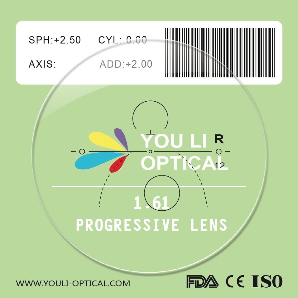 Prescription 1.56 Progressive Lens and 1.61 Progressive Lens