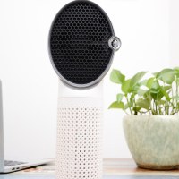 2018 Newly Activated Carbon Purifier Portable Mini Car Desktop Air Purifier with HEPA Filter Air Purifier SPA