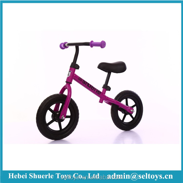 Factory wholesale 12 inch kid balancing bike/bicycle