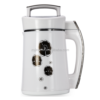heat function 1.6L 750w soy milk maker carrot soup maker