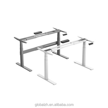 electric standing desk sit stand office desk motorized adjustable height table legs