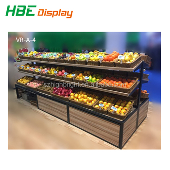 Supermarket Double Side Three Tier Wooden Fruit And Vegetable Display Stands Buy Fruit And Vegetable Display Standvegetable Display