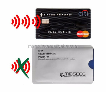 2016 on promotion credit card rfid blocking card holder helpful product for protecting your card information safe